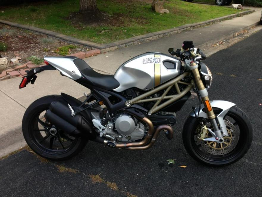 20th Anniversary 2013 Ducati Monster 1100evo Bike Urious