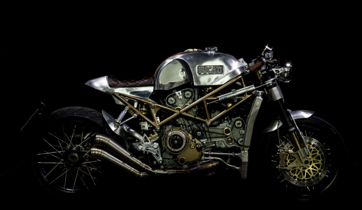 "Expensive and Shiny - 2017 Ducati Monster S4R ""Infinita"""