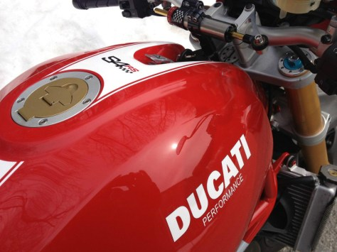 Ducati Monster S4RS Testastretta - Tank