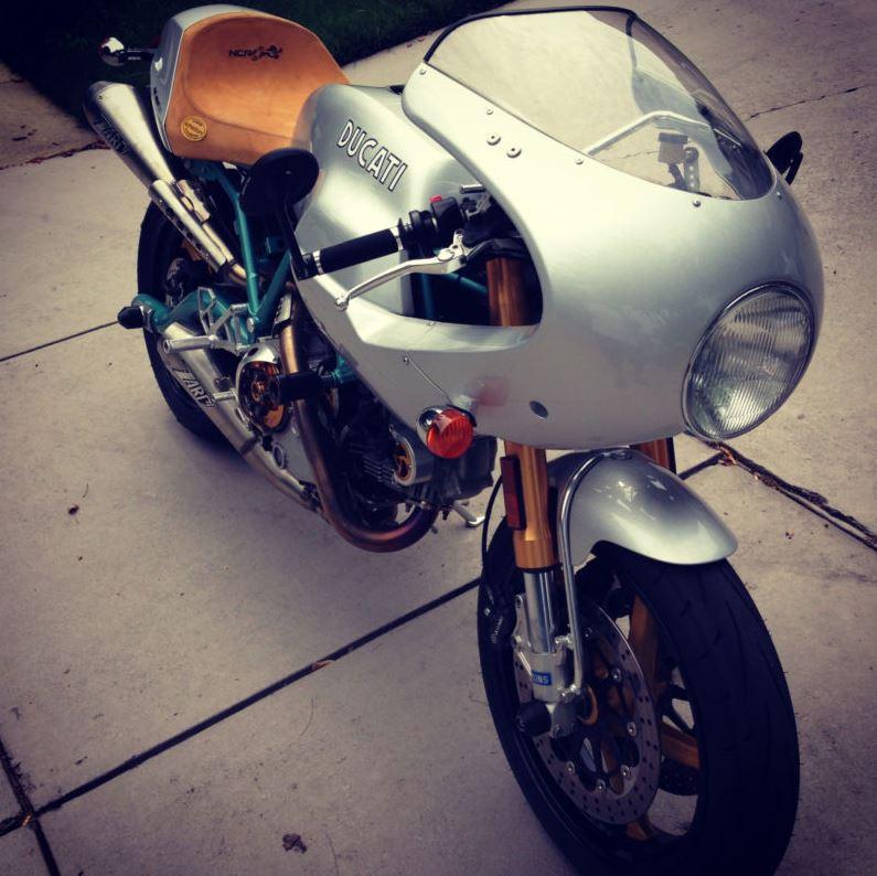 Ducati Paul Smart 1000LE - Right Side