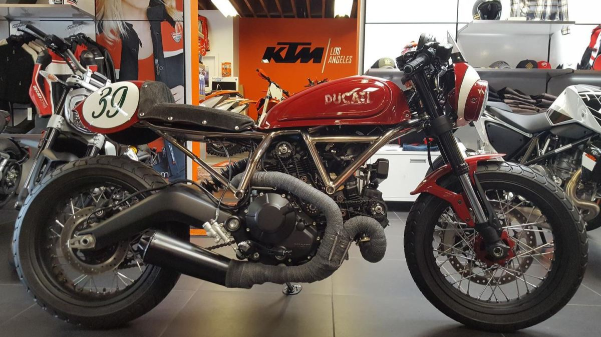 Dealer Build - 2015 Ducati Scrambler Icon Custom