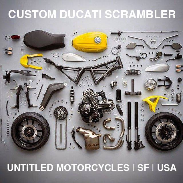 Ducati Scrambler - Right Side Untitled
