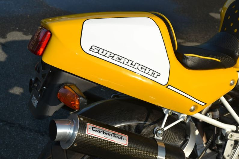 Ducati Superlight - Fender