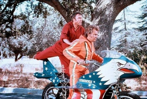 Evel Knievel Stratocycle - Movie