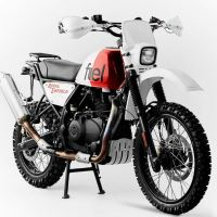 "FUEL ""Royal Rally 400"" - 2018 Royal Enfield Himalayan Custom"