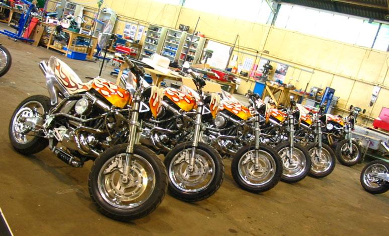 Ghost Rider Buell Bike Urious
