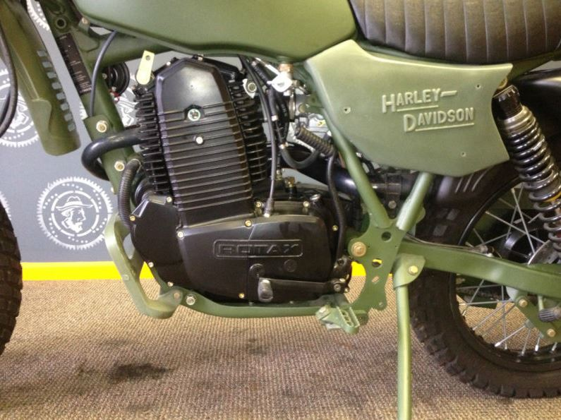 HD MT500 - Engine