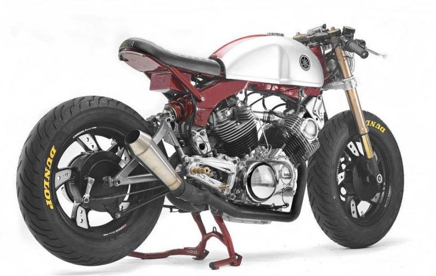 Hageman Built - 1982 Yamaha XV750 - Right Rear