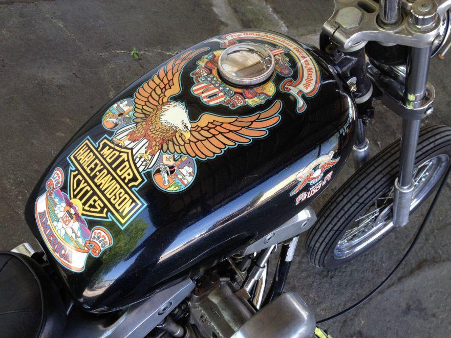 1976 Harley-Davidson Bicentennial Edition Super Glide ...