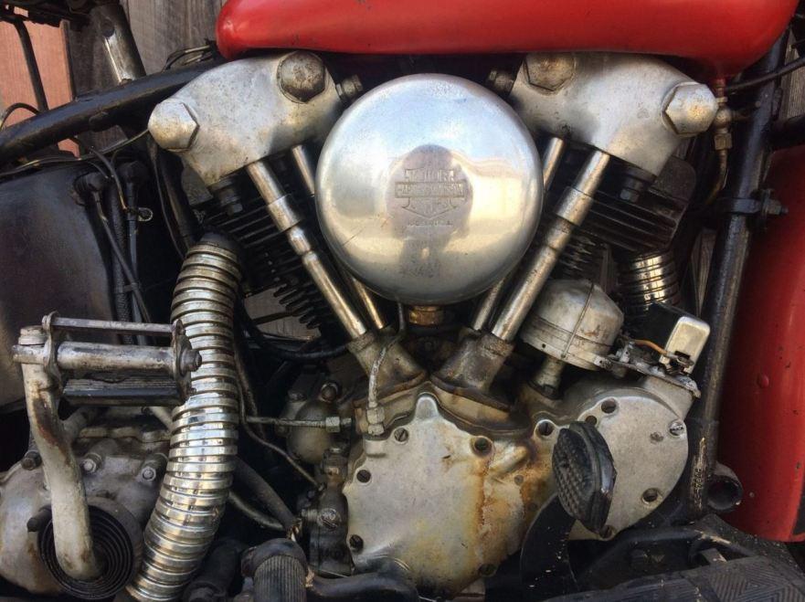 Harley-Davidson EL Knucklehead - Engine