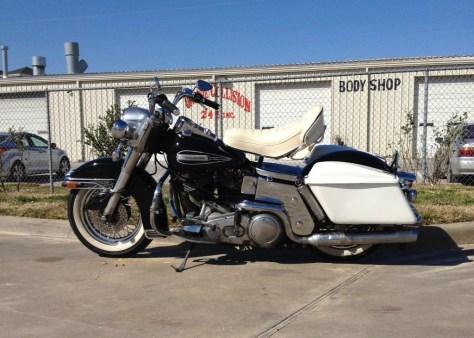 Harley-Davidson Electra Glide - Left Side