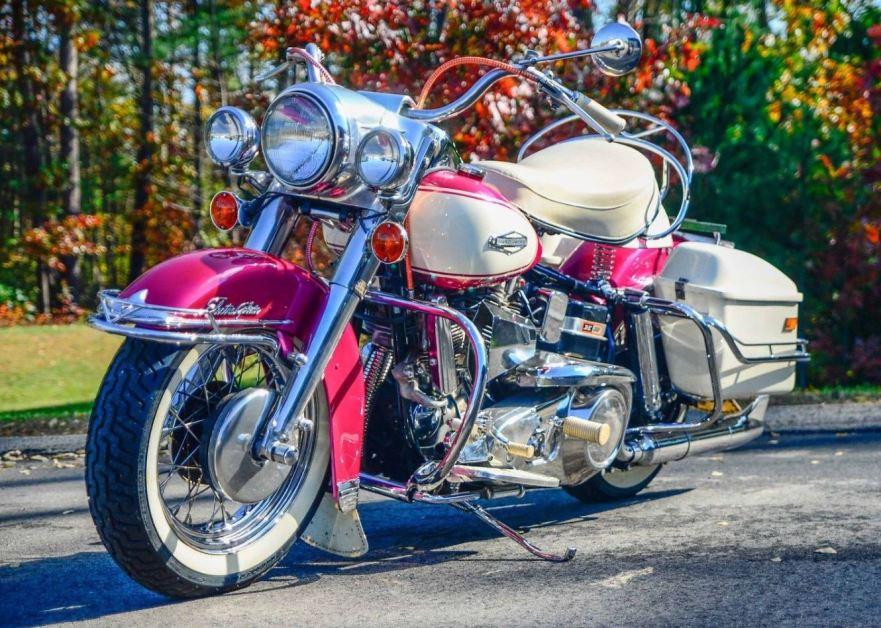 First Year Shovel – Restored 1966 Harley-Davidson FLH