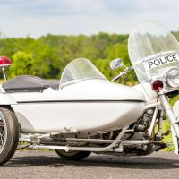 1969 Harley-Davidson FLH Police Bike