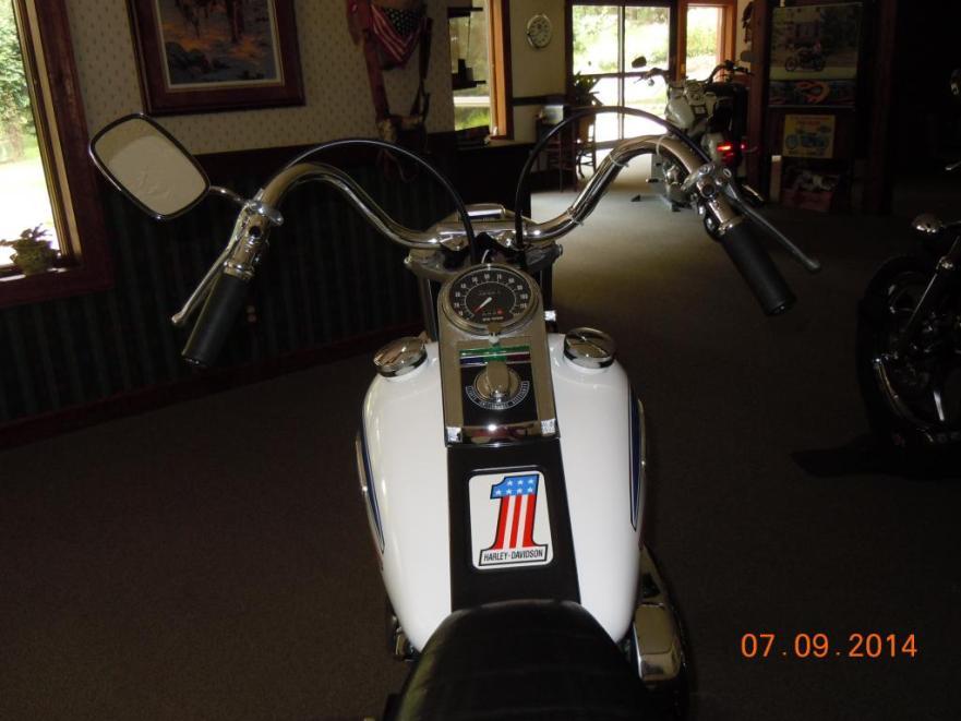 Harley-Davidson FX Super Glide - Cockpit