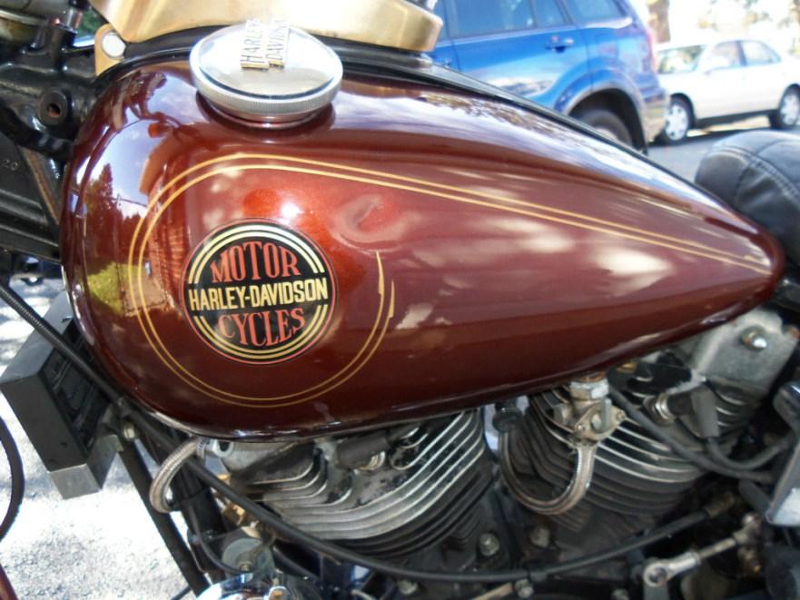 Harley-Davidson FXSB Dealer Award - Tank