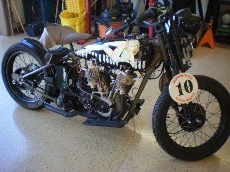 Harley-Davidson J - Right Side