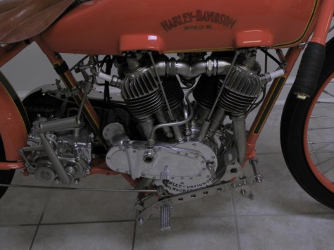 Harley-Davidson JD Racer - Engine