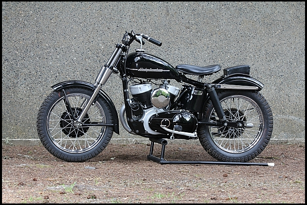 Harley-Davidson KRTT - Left Side