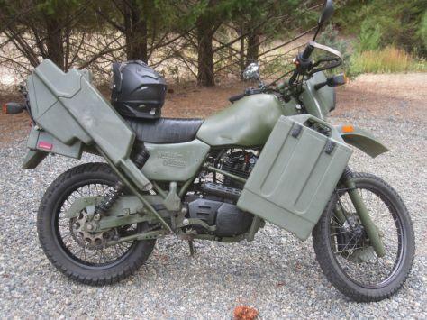 Harley-Davidson MT350 - Right Side