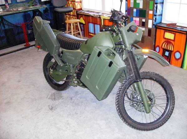 Harley Davidson MT500 - 1
