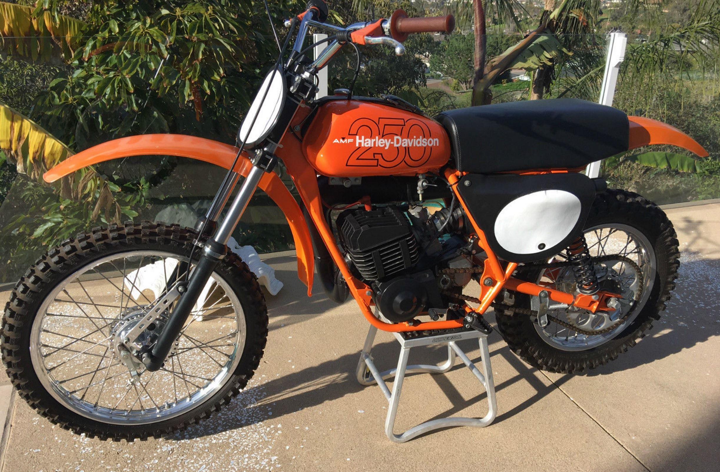 1978 Harley Davidson MX 250 | Bike urious