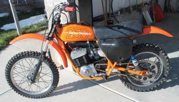 Brand New – 1978 Harley-Davidson MX250 – Bike-urious