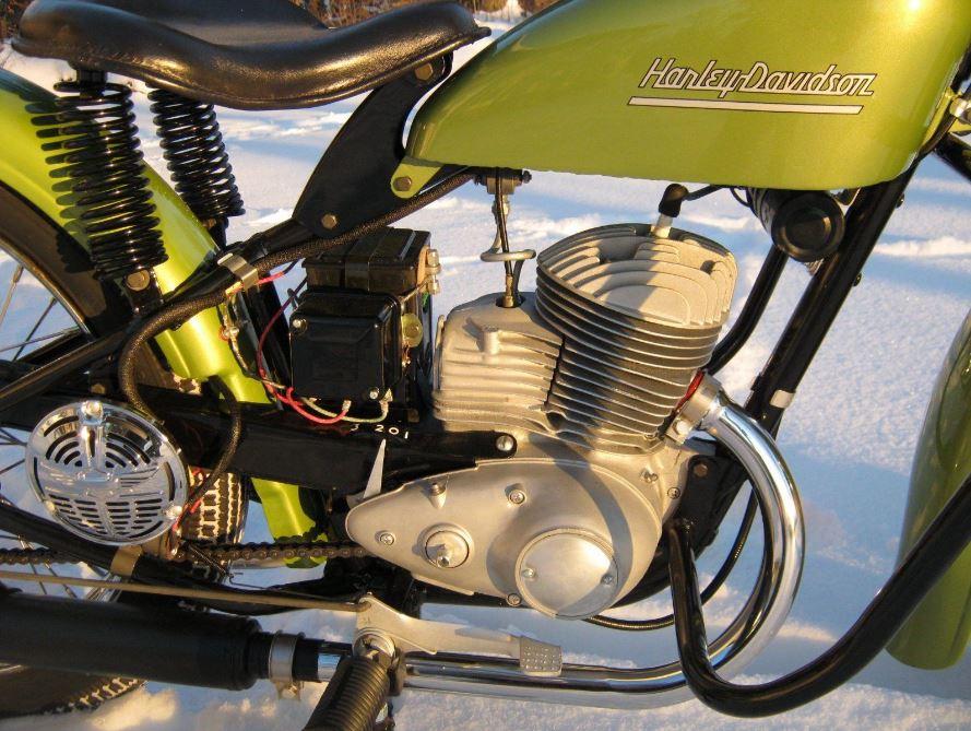 1953 Harley-Davidson ST165 – Bike-urious