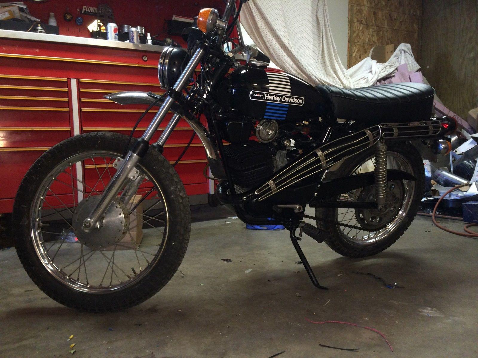 1975 harley davidson sx 125 bike urious. Black Bedroom Furniture Sets. Home Design Ideas