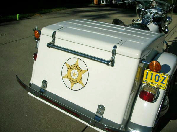 Harley Davidson Servi-Car - Rear