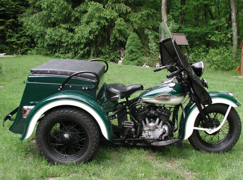 Harley-Davidson Servi Car - Right Side