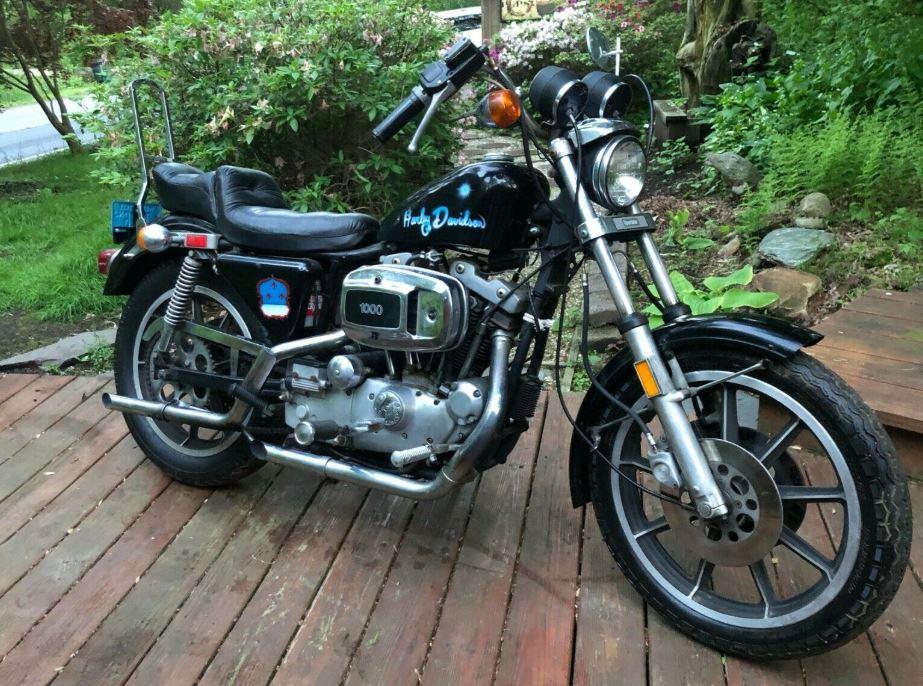 Sitting Since 1990 - 1979 Harley-Davidson Sportster