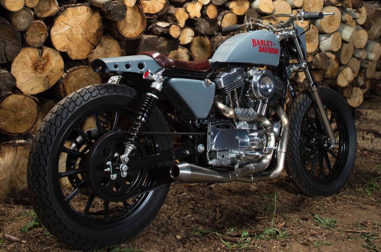 Street Tracker – 2002 Harley Sportster Custom
