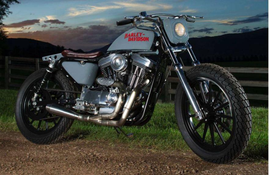 Street Tracker 2002 Harley Sportster Custom