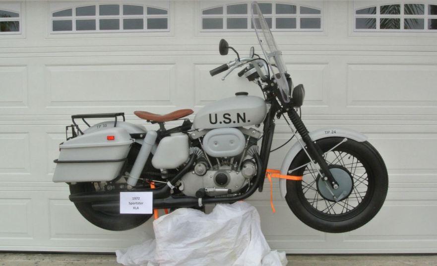 Navy 1972 Harley Davidson Sportster Xla Bike Urious Pictures