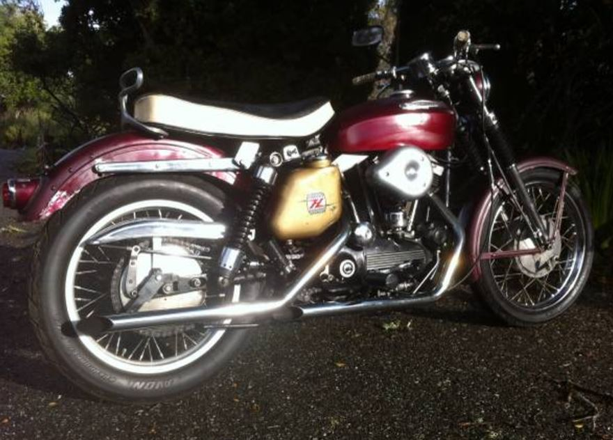 Red or Blue – Pair of 1960's Sportsters – Bike-urious