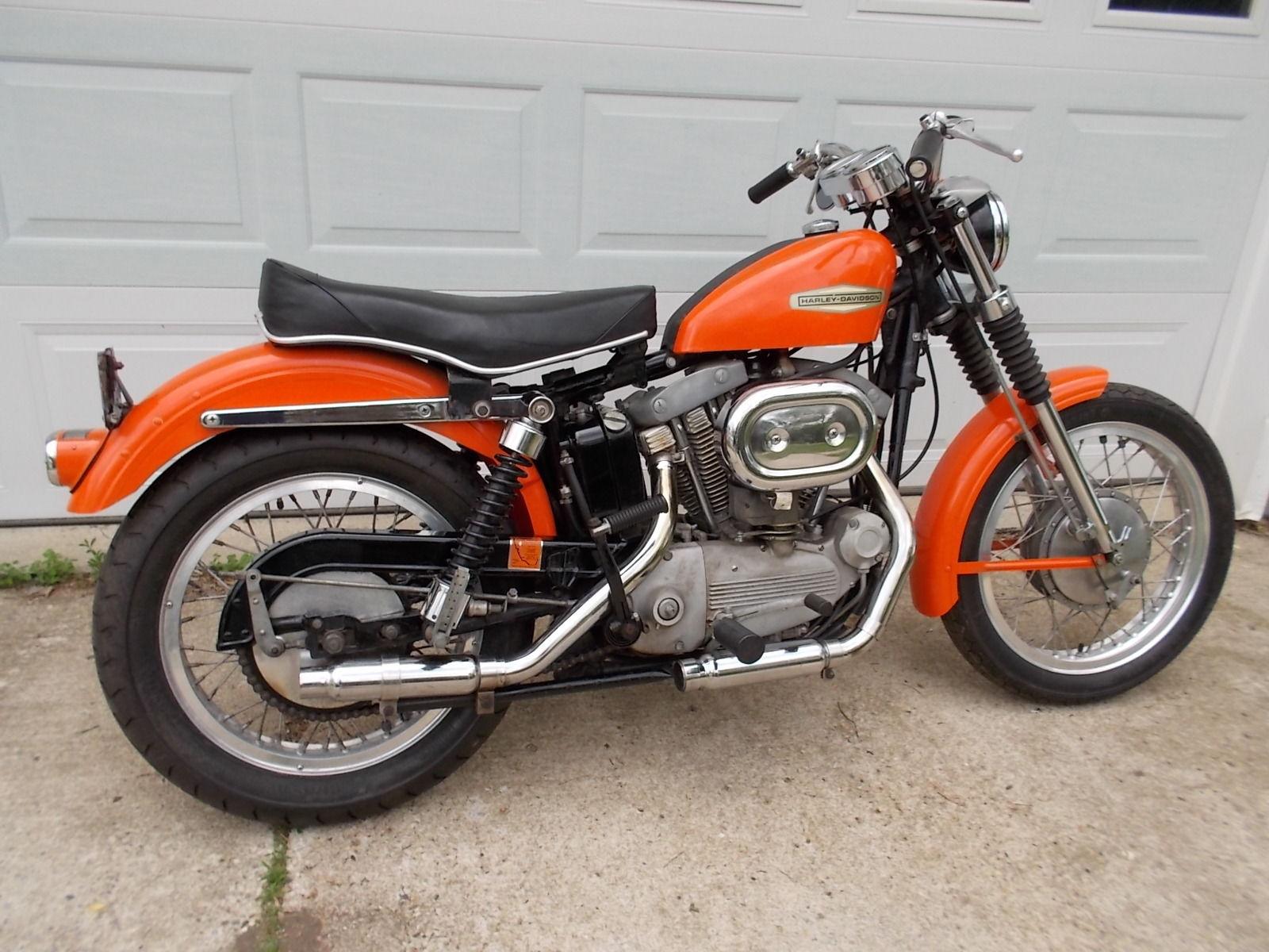 1968 harley davidson sportster xlch bike urious. Black Bedroom Furniture Sets. Home Design Ideas