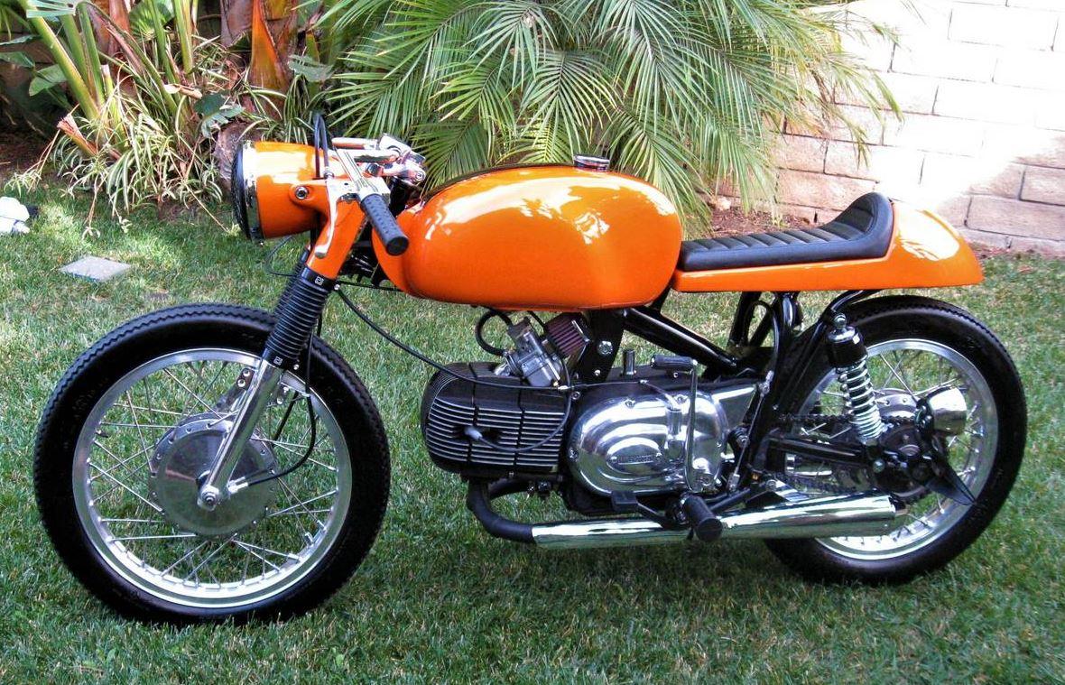 Restomod Italimerican – 1970 Harley-Davidson Sprint SS350 – Bike-urious
