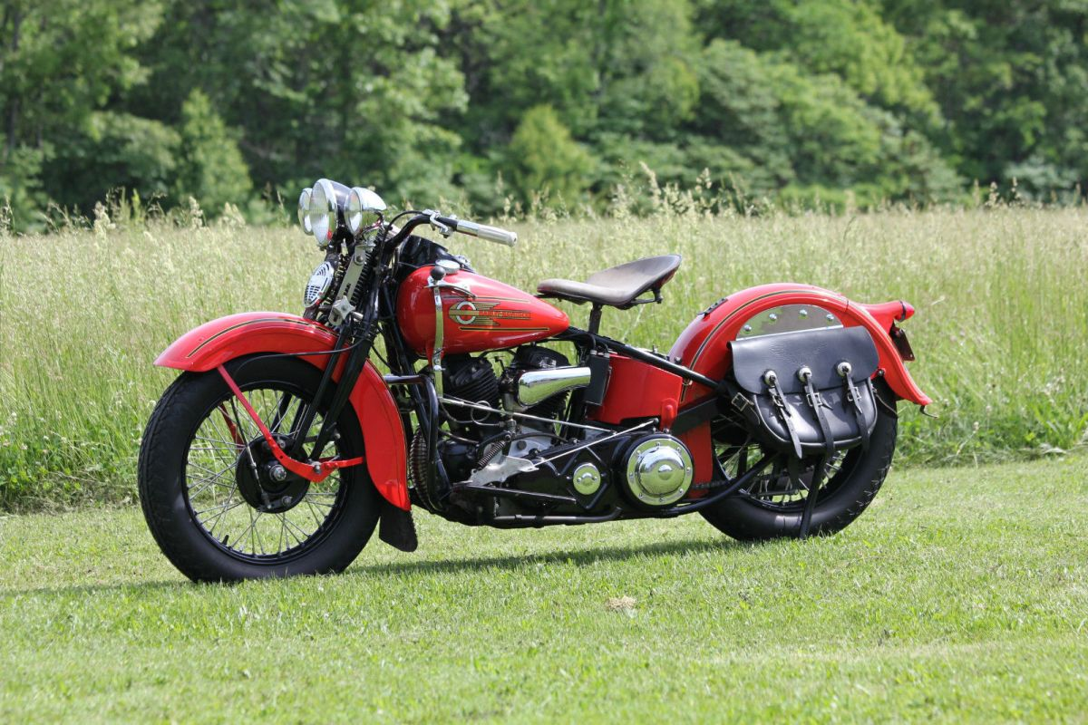 1937 Harley-Davidson UL Flathead