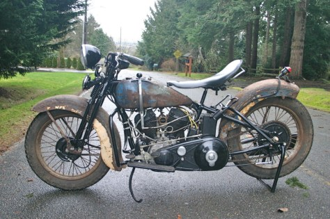 Harley Davidson VLD - Left Side