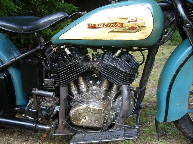 Harley Davidson VLH - Right Side