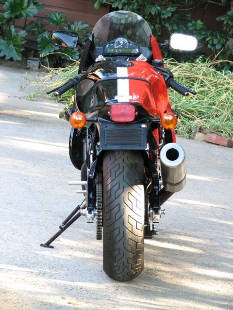 Harley-Davidson VR1000 - Rear