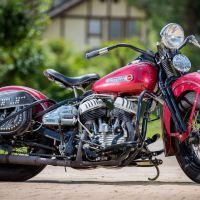 Restored Flathead - 1949 Harley-Davidson WL