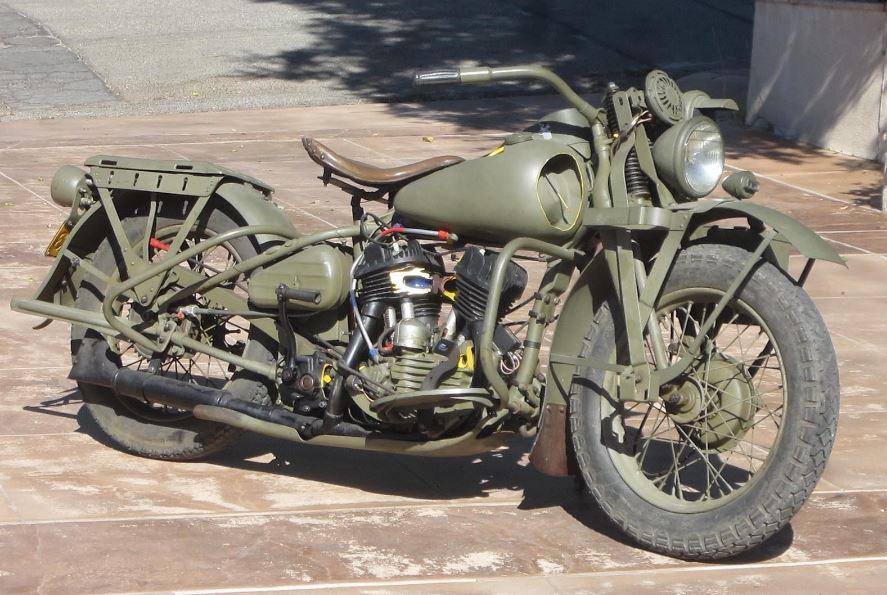 Military Cutaway 1942 Harley Davidson Wla Bike Urious