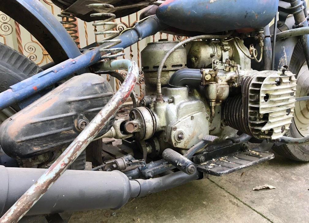 Rare Project – 1942 Harley-Davidson XA | Bike-urious