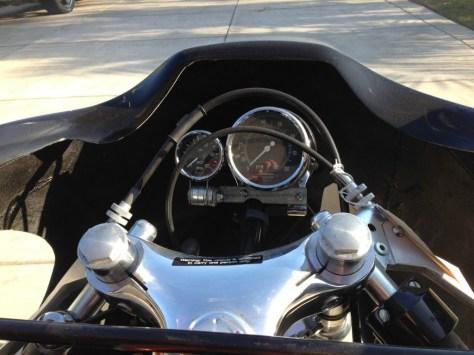 Harley-Davidson XRTT - Cockpit