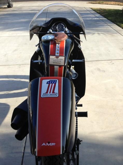 Harley-Davidson XRTT - Rear