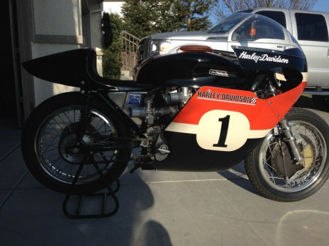 Harley-Davidson XRTT - Right Side