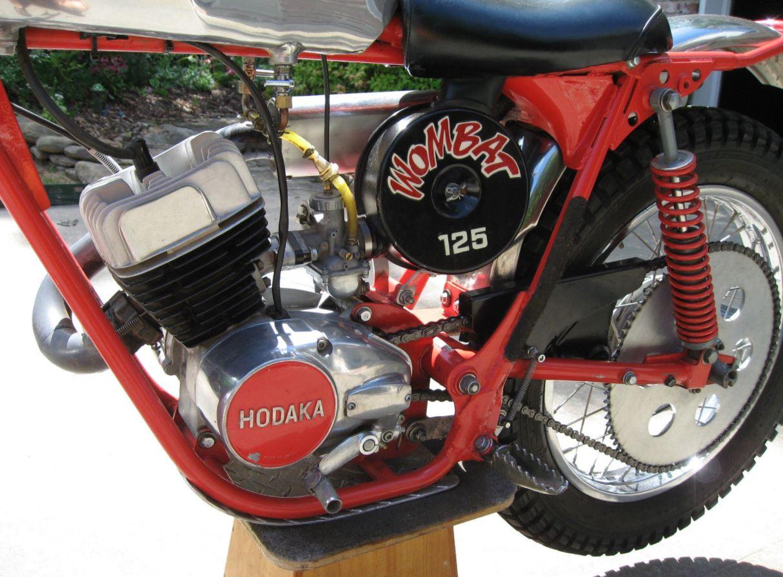 Built for Trials – 1973 Hodaka Wombat 125 – Bike-urious