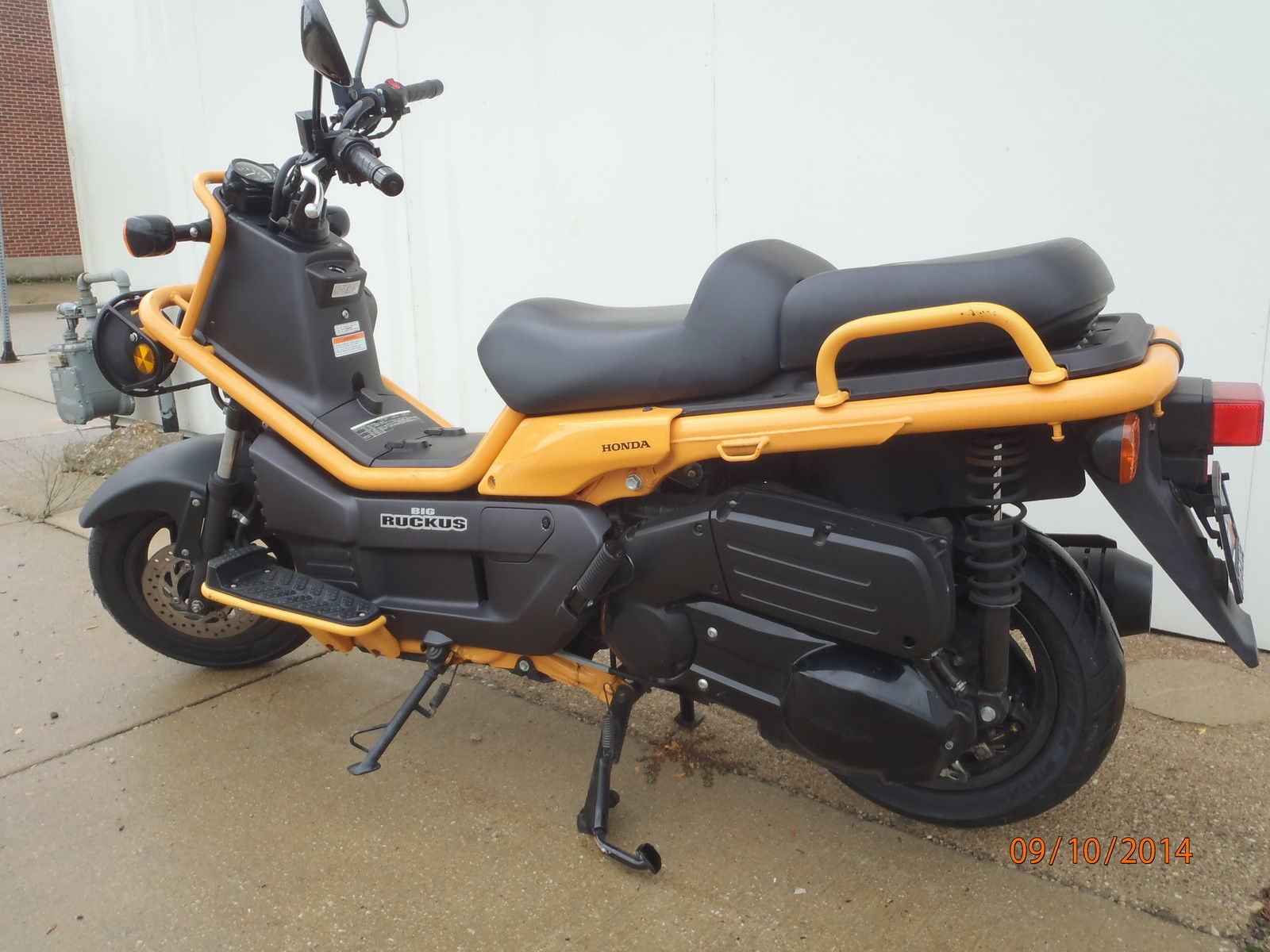 2005 Honda Big Ruckus Ps250 Bike Urious