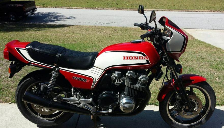 One Owner – 1983 Honda CB1100F – Bike-urious